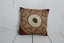 """14"""" x 15"""" Pillow Cover Suzani Pillow Cover Vintage FAST Shipment With UPS 03544"""