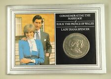 New listing Falkland Commemorative Coin Card for Wedding of Prince Charles and Lady Diana