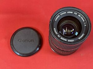 Vintage Canon Camera Zoom Lens FD 35-70mm 1:4