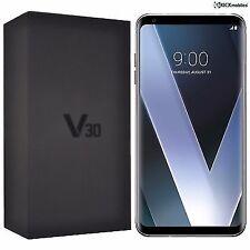 "LG V30 H930 6"" QHD+ OLED FullVision Touch (64GB/4GB RAM, 16+13MP/5MP, 2.45GHz Quad, USB-C, Android) Smartphone (Unlocked) - Silver"