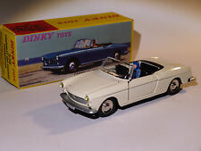 Peugeot 404 Cabriolet White (Inside Black) Ref 528 to the / Of 1/43 DINKY Toys