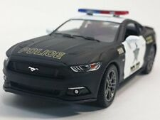 "New 5"" Kinsmart 2015 Ford Mustang GT Police Car 1:38 Diecast Model Toy Cop Car"