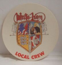 White Lion - Vintage Original Concert Tour Cloth Backstage Pass