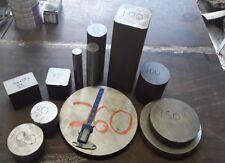 40mm diameter x 200mm long 4140 CrMo GROUND steel round bar machining lathe mill