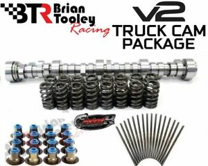 BTR V2 Truck Cam Kit Stage 1-4 Includes Camshaft Valve Springs Pushrods & Seals