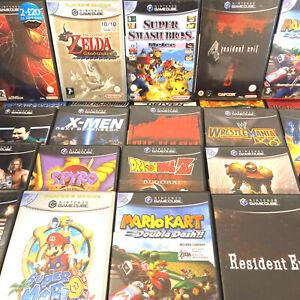 GameCube PAL, Mario Kart, Zelda, Super Smash Bros, Resident Evil, Nintendo, 007
