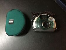 Canon Elph Sport APS Point and Shoot Film Camera Waterproof 23mm Lens