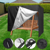 Garden Patio 3 Seater Swing Chair Cover Protective Cover Dust Covers Canopy