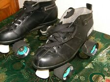 Vintage Bullit Roller Skates Black Size 9 In Good Condition