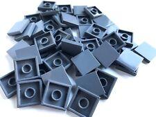 LEGO ®  50 Fliesen 2x2 in  dunkelgrau ( dark bluish gray ) , NEUWARE  S54
