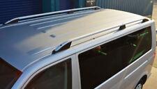 Roof Rack Rails Side Bars Set To Fit SWB Volkswagen T6 Transporter (2016+)