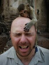 "Set Of 5 Karl Pilkington 7"" x 5"" Photo Prints  An Idiot Abroad  Moaning Of Life"