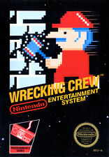 "Nintendo Nes ( 2.5""X3.5"" FRIDGE MAGNET ) WRECKING CREW  BOX COVER"