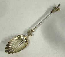 Vintage Souvenir Spoon Winged Dragon Human Face Silver Unmarked