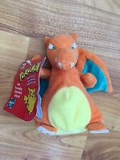 ORIGNAL POKEMON CHARIZARD #6 HASBRO SOFT PLUSH TOY NINTENDO COMPLETE WITH TAGS