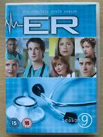 Er Stagione 9 Box DVD Set Michael Crichton US Medico Ospedale Drammatico Serie