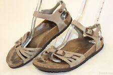 Birkenstock Germany Made Womens 8 39 Bali Leather Ankle Strap Sandals Shoes ke