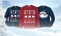 LOL League of Legends Sweater Round T Shirts Red Blue Limited Edition Mantoman