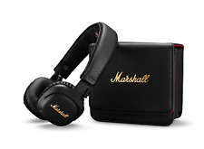 Marshall Mid Active Noise Cancelling On-Ear Wireless Bluetooth Headphone, Black