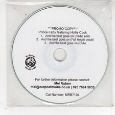 (FV916) Prince Fatty ft Hollie Cook, And The Beat Goes On - DJ CD