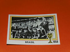 14 TEAM BRASIL BRESIL 1958 FOOTBALL PANINI WORLD CUP STORY 1990 SONRIC'S