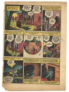 B 1940 Batman #4 single page only