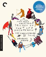 Trilogy of Life (Blu-ray Disc, 2012, 3-Disc Set, Criterion Collection) NEW