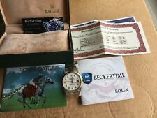 Mens 2 Tone Rolex Gold / Stainless Steel Datejust W/white Mop Diamond Dail 1601