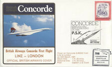 CONCORDE 1er vol LINZ LONDRES 29 Mars 1981