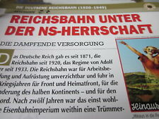 Deutsche Eisenbahngeschichte N DR 1920-1949 Reichsbahn unter der NS Herrschaft