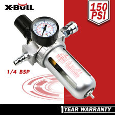 X-BULL Air Compressor Moisture Filter Water Trap Filter Regulator Separator