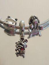 Disney Winnie the Pooh,Piglet y Eeyore bead