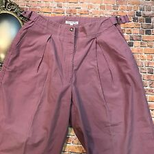 Christian Dior Women's ACTIFS PINK High Waisted Mom Jeans Mom Pants sz. 14 *AUTH