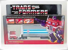 Transformers AUTOBOT Optimus Prime G1 Reissue Robot Robusteza de tractor camión