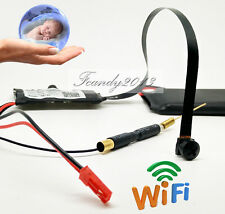 Mini DV Full 1080P HD Wireless IP DIY SPY micro Black screw WIFI camera DVR cam