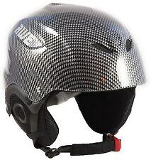 AWE® Ski Snowboarding Out Mould Helmet Kids/Junior Graphite 52-56cm CE EN 1077