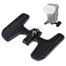 """Flash Stand Base Flashgun Bracket 1/4"""" Thread For Sony HVL-F58am Minolta 5600HSD"""