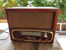 Vintage Wooden Sparton 8w10 Radio-Working