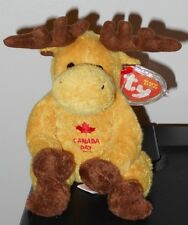Ty Beanie Baby ~ DOMINION the Canadian Moose ~ Exclusive ~ MINT with MINT TAGS