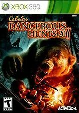 Cabela's Dangerous Hunts 2011 (Microsoft Xbox 360, 2010) GOOD