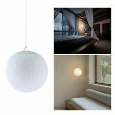 Rechargeable 3D Luna Night Light Moon Lamp 2 Color 15CM Change Touch Switch UK