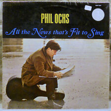 Phil Ochs All The News That's Fit To Sing CGLP 4427 Carthage