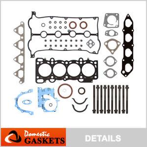 Fits 01-04 Kia Spectra 1.8L DOHC Full Gasket Set Bolts T8