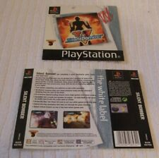 PLAYSTATION ONE GAME INLAY/ARTWORK COVERS  *** SILENT BOMBER *** VGC