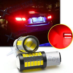 RED LED Brake Stop Light Bulb 1157 for Hyundai Sonata Santa Fe 2001-2019 Elantra