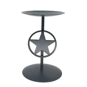 Texas Lone Star Candle Holder Hand Made for Home & Garden Decor