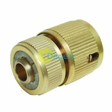 """1/2"""" Female Brass Hose Auto Stop Quick Connector For Garden Water Hose Pipe"""
