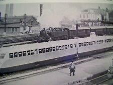 58101 ephemera picture gare de lyon paris bugati train