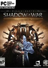 Middle-earth: Shadow of War Gold Edition for PC NEW Steam CD Key No DVD or CD
