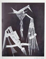 Wifredo Lam peintures récentes —Galerie Villand & Galanis — 1968 — EO